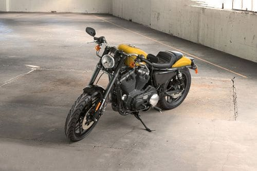 Harley-Davidson Roadster Slant Front View Full Image
