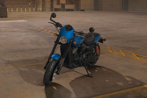 Harley-Davidson Street Rod Slant Front View Full Image