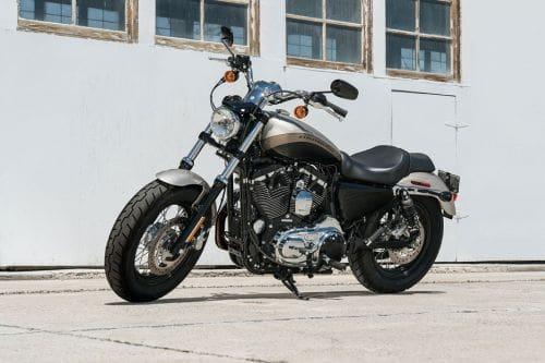 Harley-Davidson 1200 Custom Slant Front View Full Image