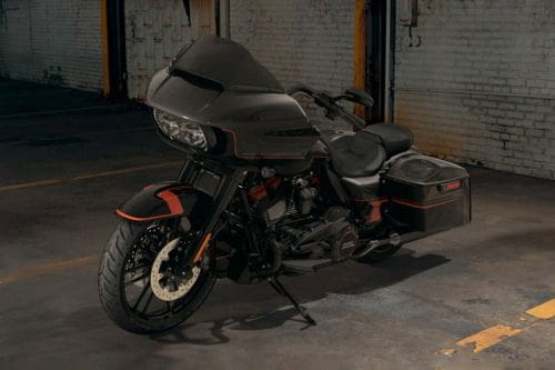 Harley-Davidson CVO Road Glide Slant Front View Full Image
