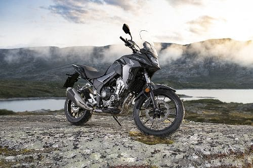Honda CB500X Slant Rear View Full Image