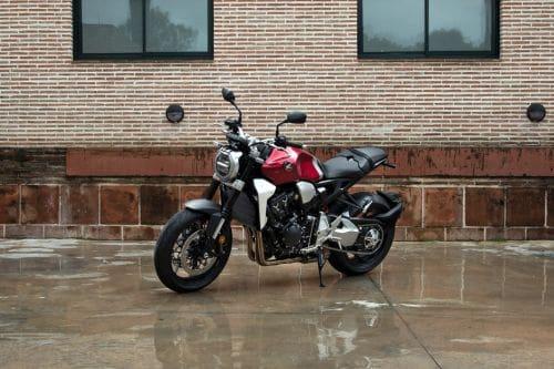 Honda CB1000R Slant Front View Full Image
