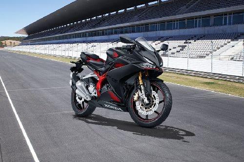 Honda CBR250RR Slant Rear View Full Image