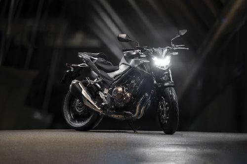 Honda CB500F Slant Rear View Full Image