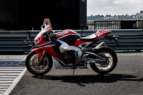Honda CBR1000RR Left Side View Full Image