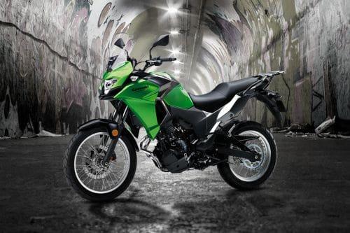 Kawasaki Versys-X 250 Slant Front View Full Image