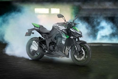 Kawasaki Z 1000 Slant Rear View Full Image