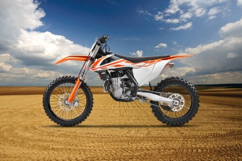 KTM 450 SX-F Left Side View Full Image