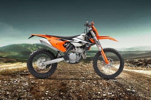 KTM 250 EXC‑F Left Side View Full Image