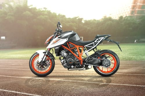 KTM 1290 Super Duke R Left Side View Full Image