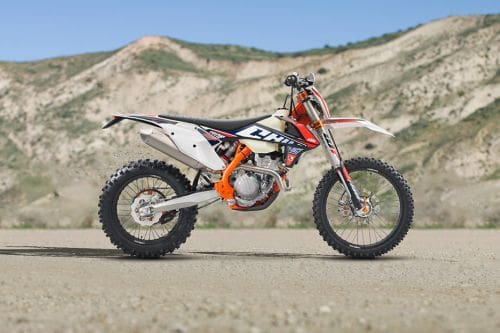 KTM 250 EXC-F Six Days Right Side Viewfull Image