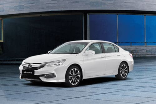 Accord Front angle low view