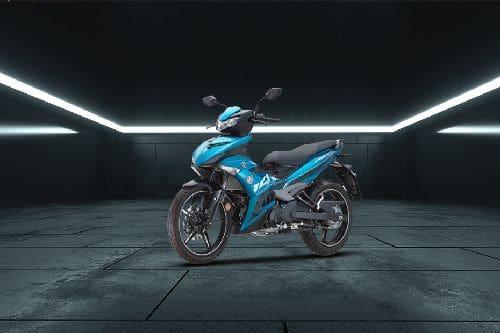 Yamaha Y15ZR Slant Front View Full Image