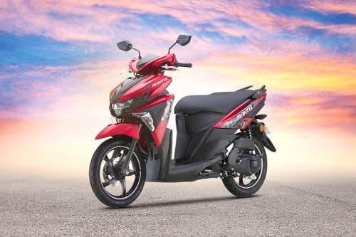 Yamaha Ego Avantiz Slant Front View Full Image