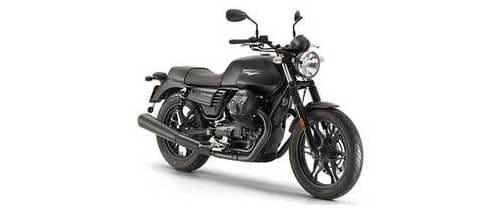 Moto Guzzi V7 III Slant Rear View Full Image