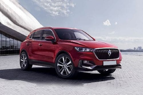 BX5 Front angle low view