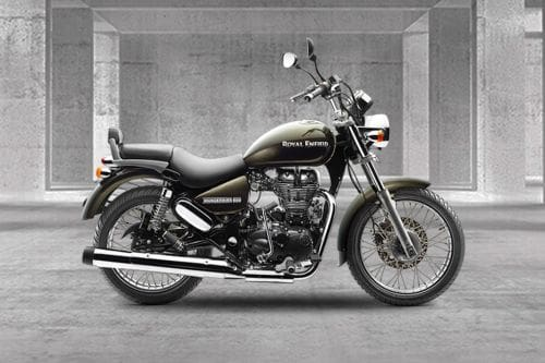 Royal Enfield Rumbler 500 Right Side Viewfull Image