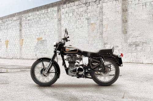 Royal Enfield Bullet 350 Left Side View Full Image
