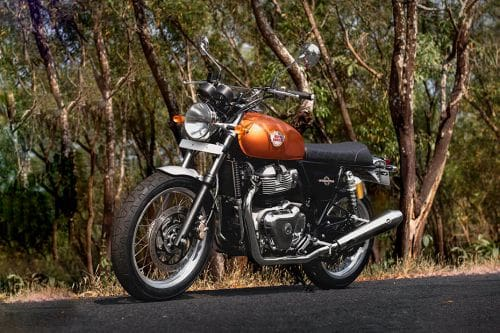 Royal Enfield Interceptor 650 Slant Front View Full Image