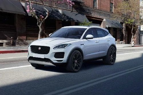 E-Pace Front angle low view