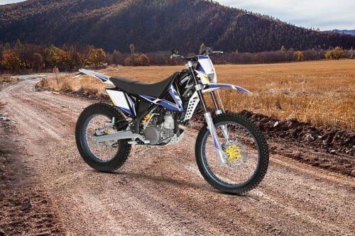 Sherco 290 X-Ride Slant Rear View Full Image